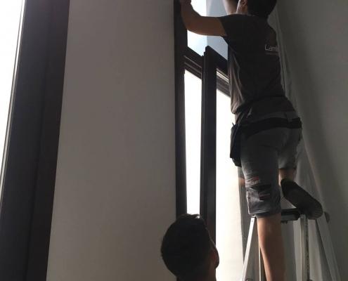 láminas protección solar interior