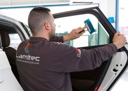 instalación de láminas para vehículos
